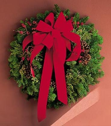 Holiday Door Wreath