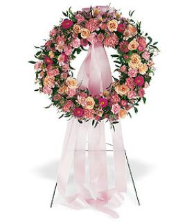 Standing Wreath, Hearts, Crosses