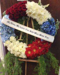 American Love Wreath